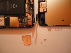 iPhone reparatur geöffnet