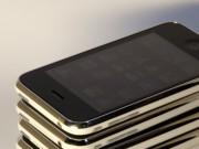 Mehrere iPhones gestapelt