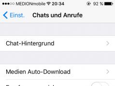 WhatsApp Chat-Backup
