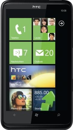 Akku tauschen beim HTC HD 7