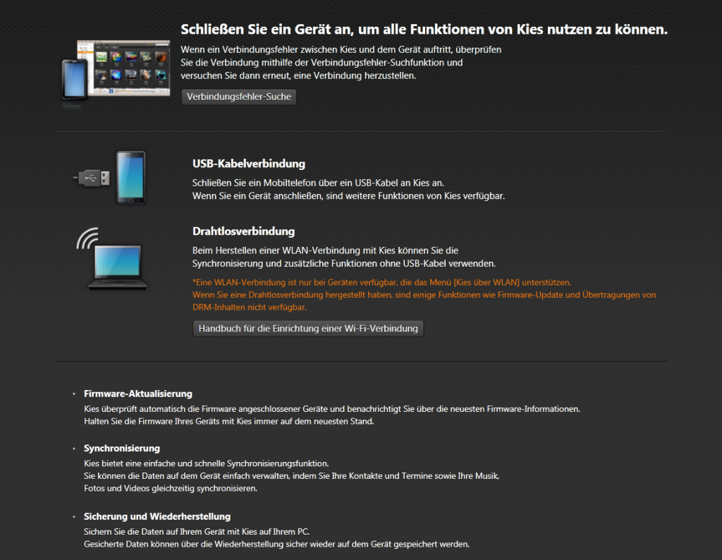 Softwareupdate beim Samsung Galaxy S2