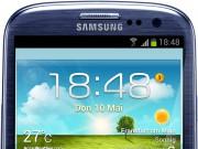 Galaxy S3 schwarz Front