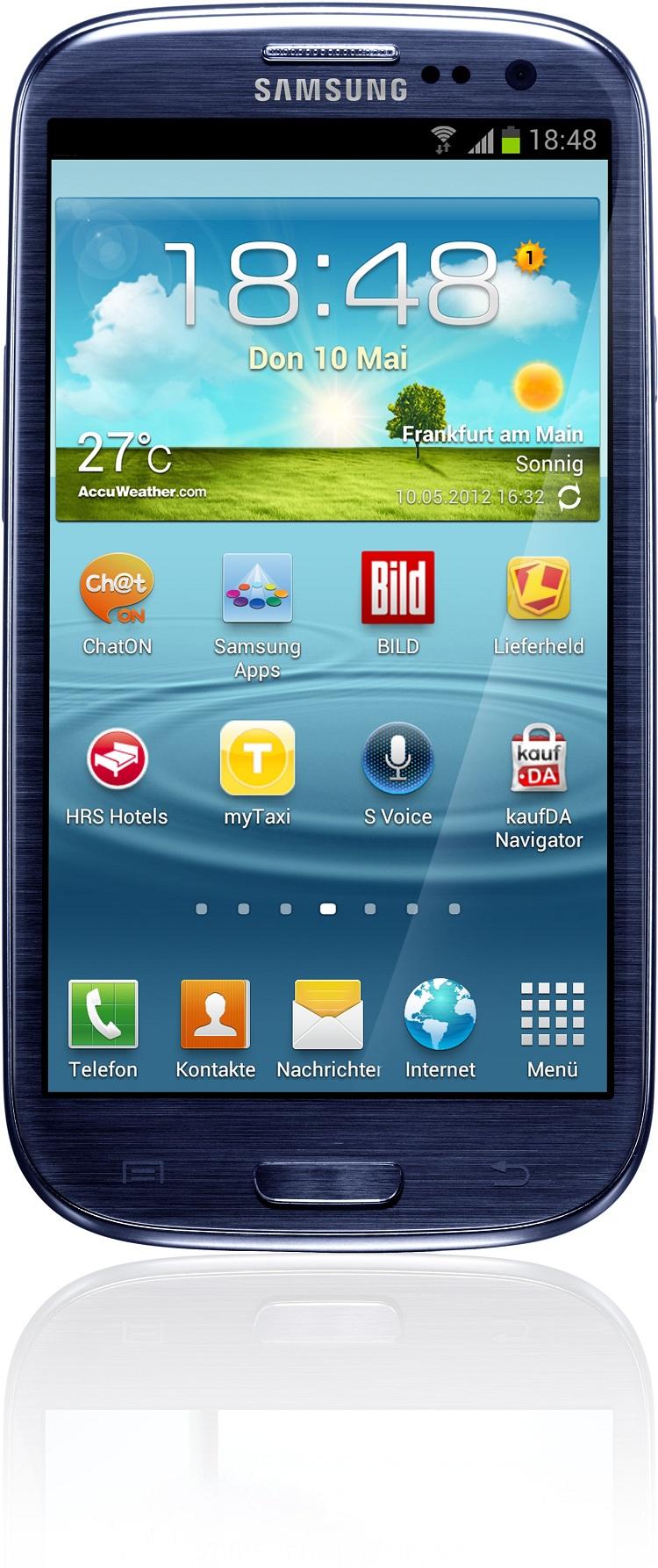 Galaxy S3 Blau