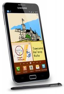 Galaxy Note Schwarz Display