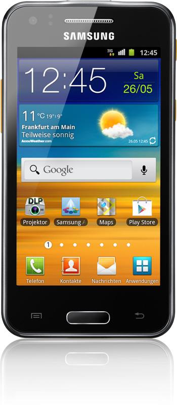 Samsung Galaxy Beam Schwarz