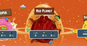 Angry Birds Space Red Planet Lösung
