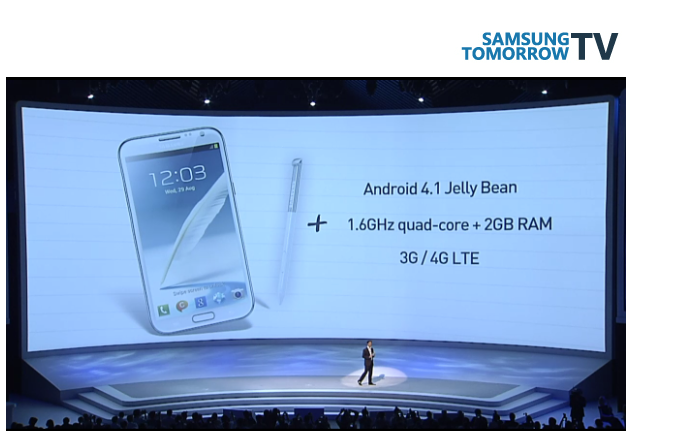 Galaxy Note 2 Live