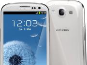 Samsung-Galaxy-S4 weiß stehend