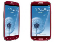 Galaxy S3 rot stehend