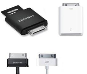 Zubehör iPhone und Samsung Vergleich