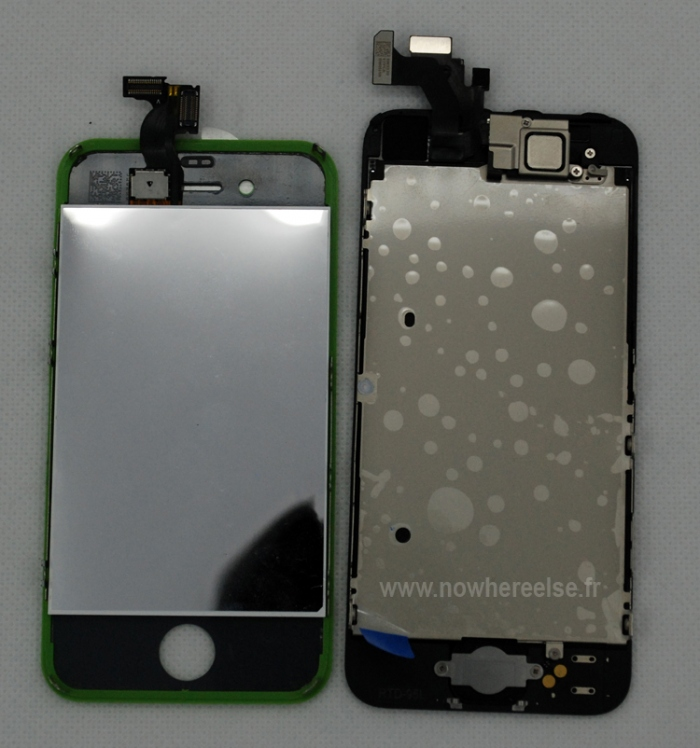 Displayvergleich iPhone 5 und iPhone 4S