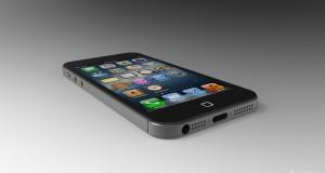 iPhone 5 liegend