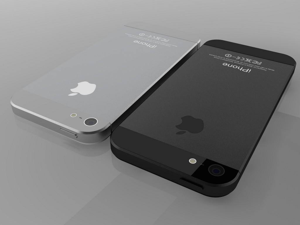 iPhone 5 weiß und schwarz
