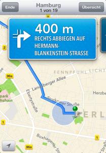 Karten App Apple