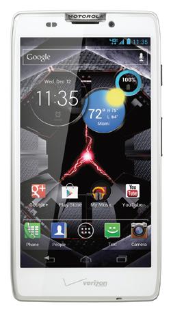 Motorola Droid Razr HD weiß