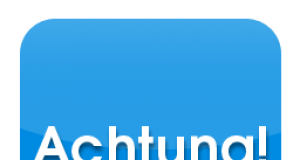 Achtung Logo