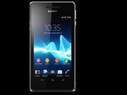 Sony Xperia V Schwarz stehend