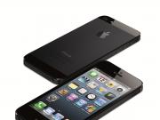 iPhone 5 schwarz liegend