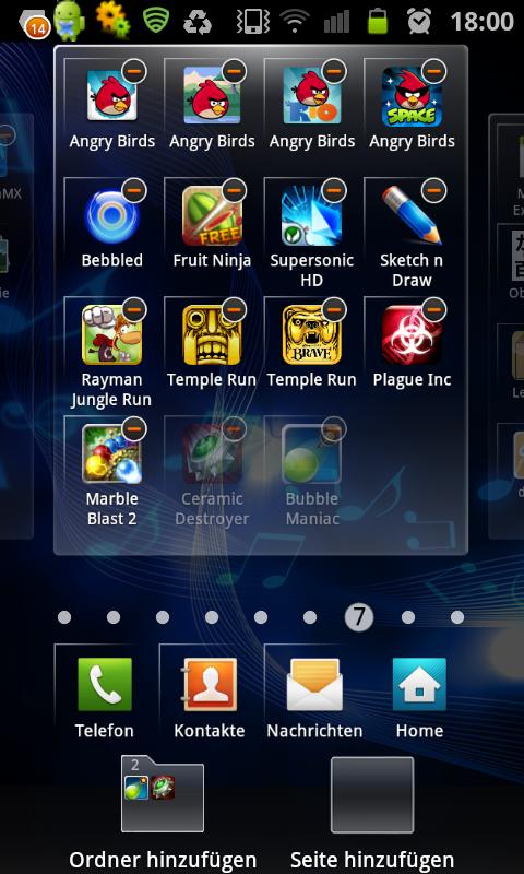 Apps sortieren Galaxy S4
