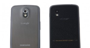 Galaxy Nexus grau und schwarz