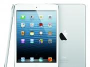 iPad Mini in Weiß stehend