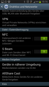 S-Beam Galaxy S3 LTE