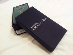 Galaxy S3 Verpackung