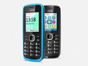 Nokia 109 schwarz stehend