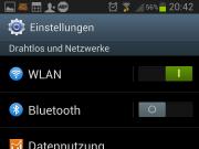 Einstellungen Datennutzung Android