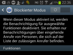 Anrufe blockieren Android