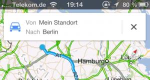 Google Maps Übersicht