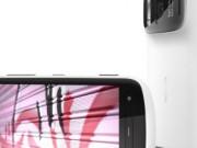 Nokia 808 PureView weiß seitlich