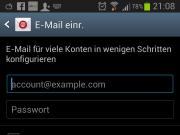 E-Mail Account