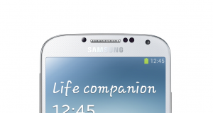 Galaxy S4 stehend