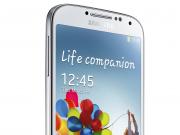 Galaxy S4 weiß seitlich
