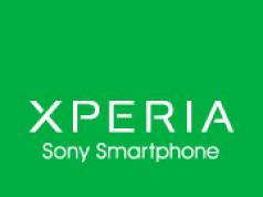 Xperia Logo Sony Smartphone