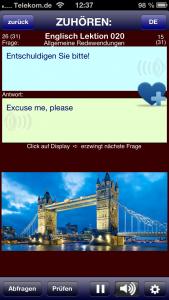 App Englisch Sprache lernen