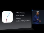 iOS 7 kompatible geräte