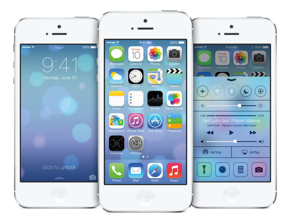 iPhone 5_iOS 7