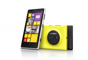 Lumia 1020 gelb schwarz