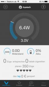 myVapors App Dampfen schädlich