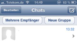 iPhone 3G mit WhatsApp
