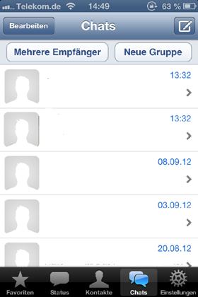 whatsapp reagiert nicht mehr iphone