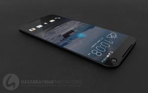 HTC Aero liegend