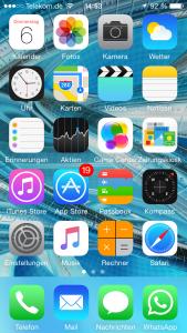 iPhone durchsuchen