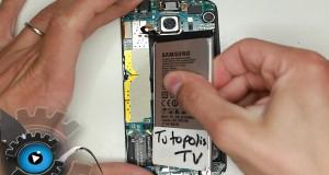 Galaxy S6 Edge Akku raus