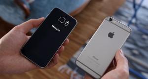 Vergleich iPhone Galaxy S6