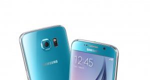 Galaxy S6 Blau