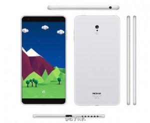 Nokia C1 Vorder- und Rückseite