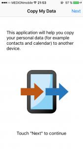 iOS 9 Wechsel von Android